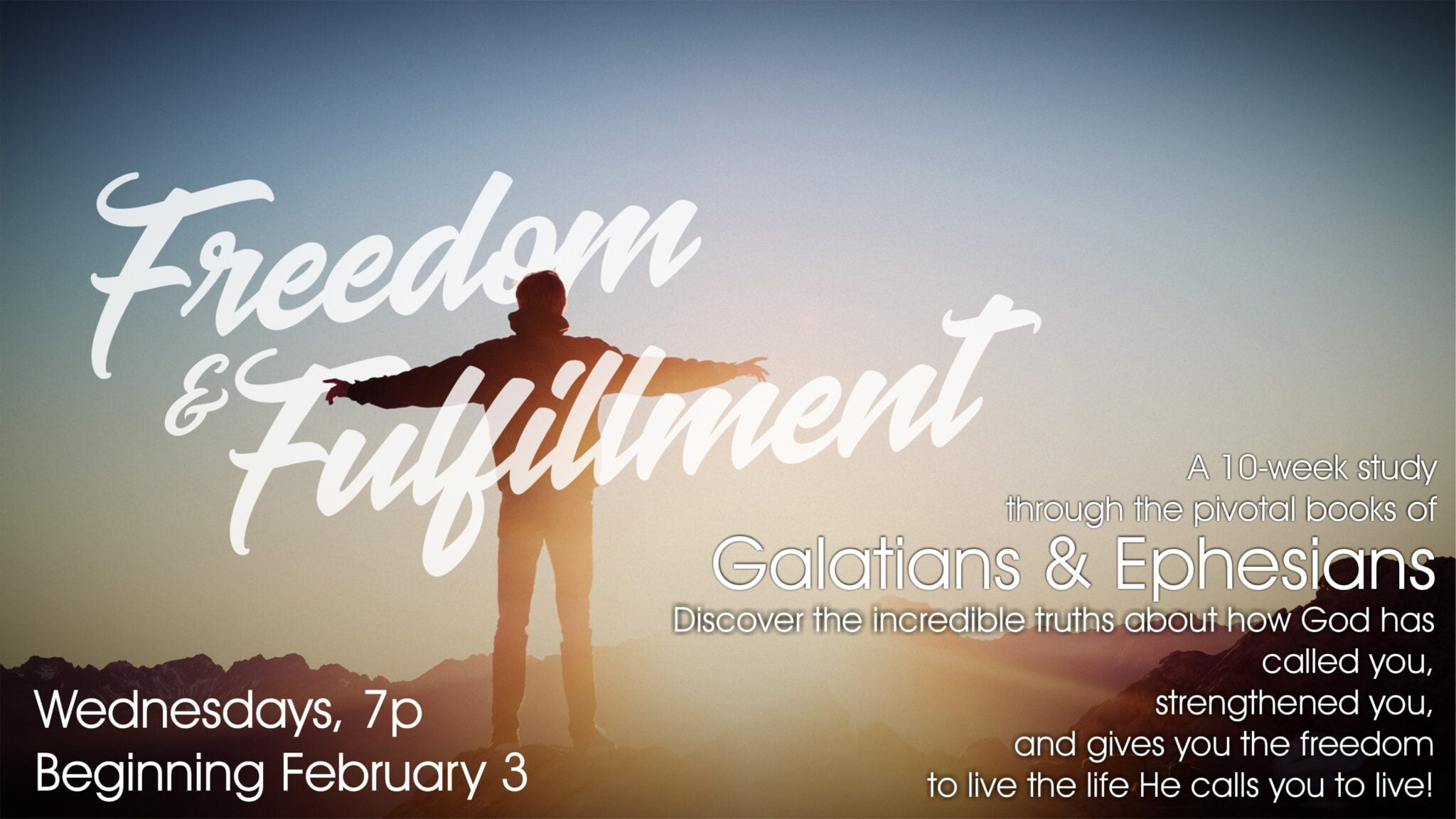Freedom & Fulfillment Bible Study
