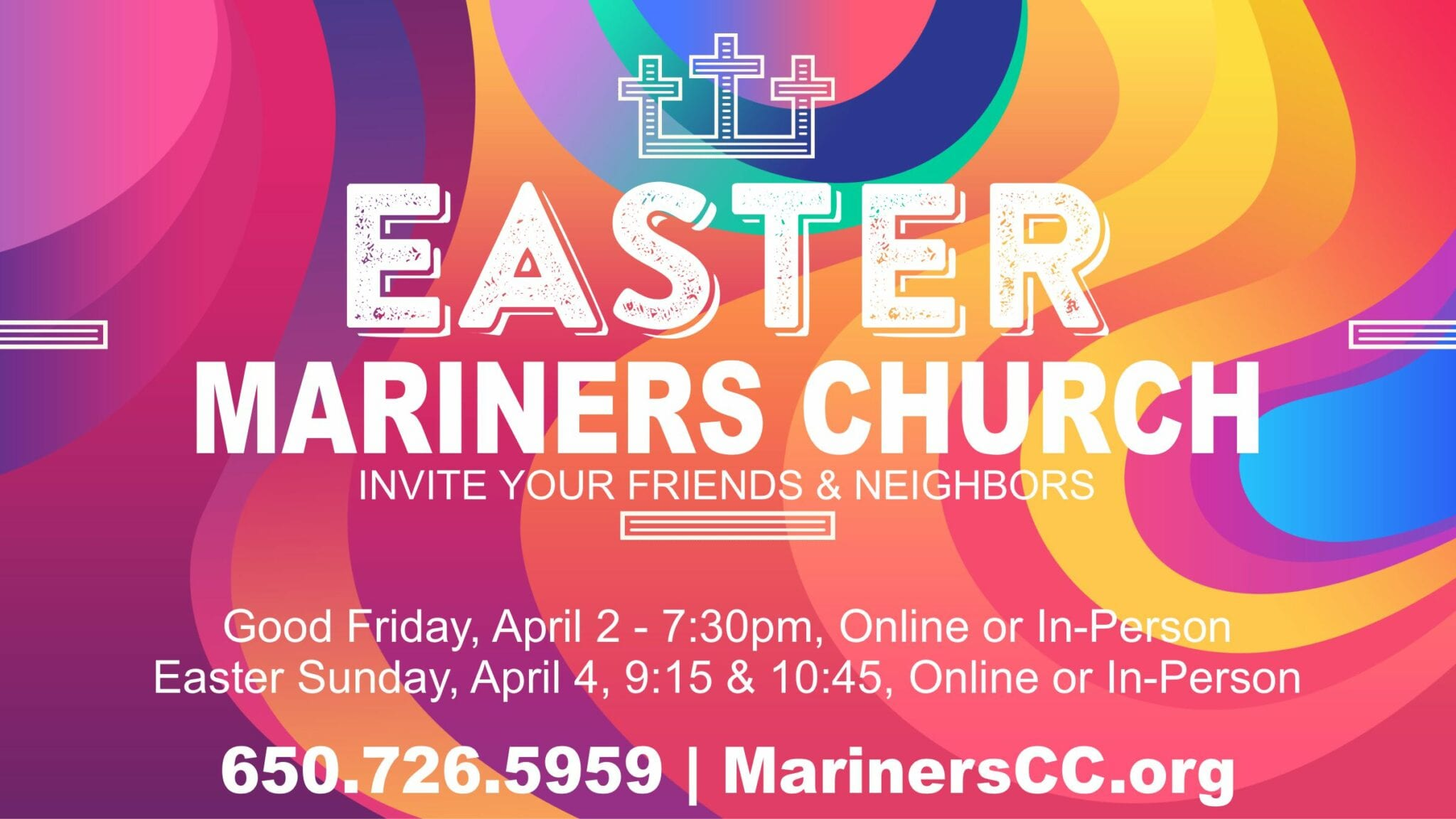 Easter at Mariners 2021
