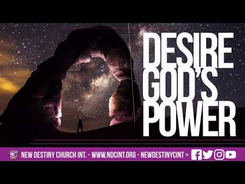 Desire God's Power