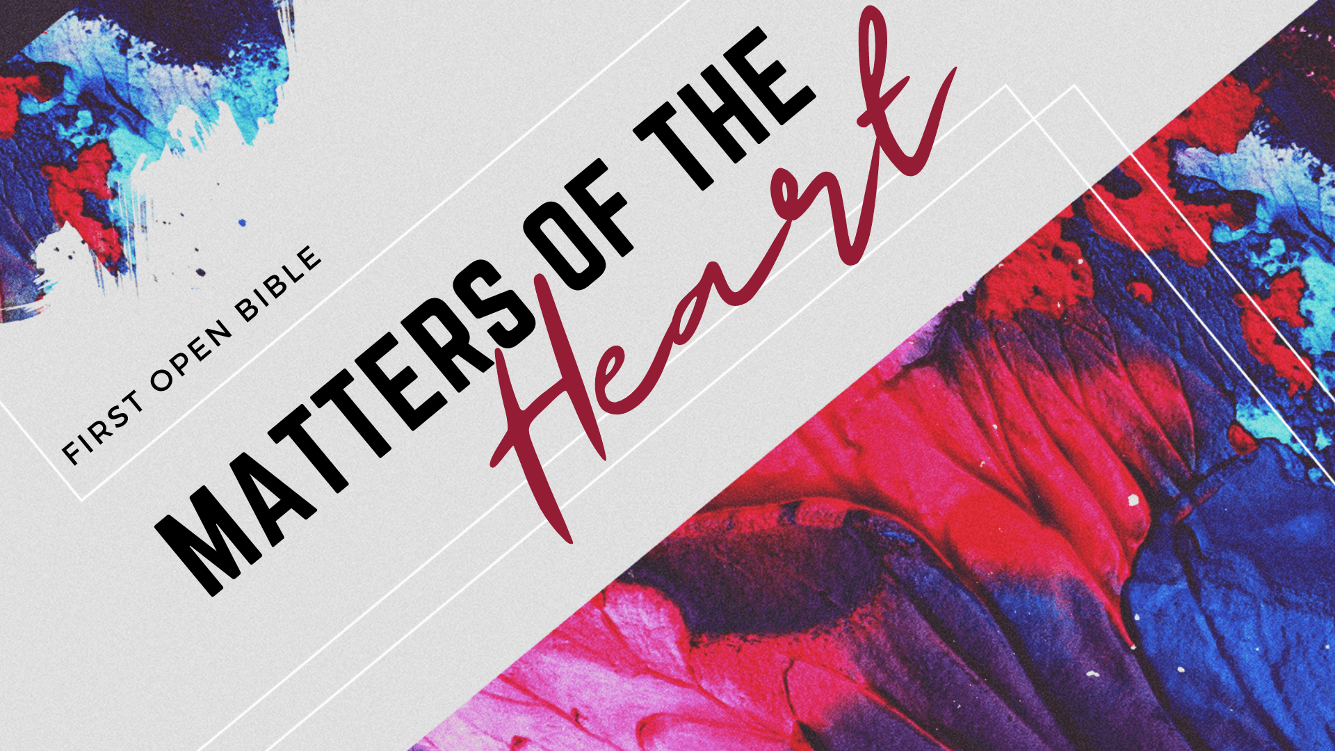 Matter's of the Heart – Wk. 3