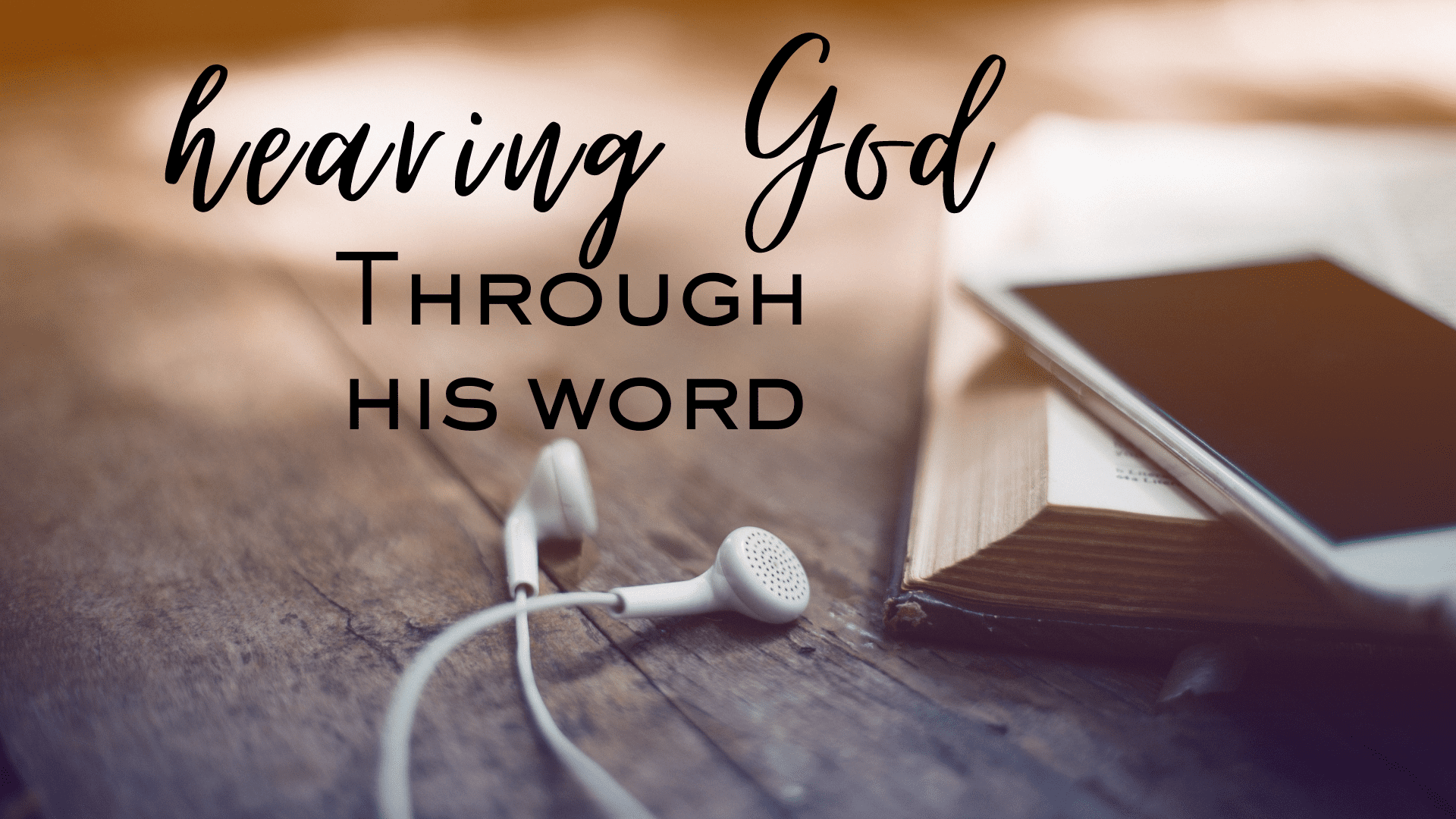 Through His Word