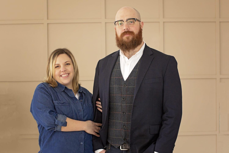 Joel and Sarah Rashid