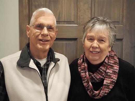 Dennis and Joan Kelley
